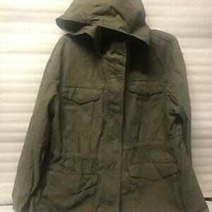 Ava & Viv Women's Army Olive Green Jacket